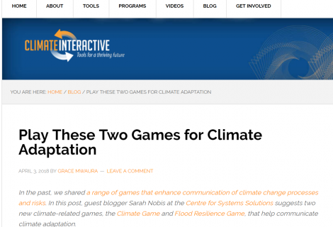 Gościnny post na blogu Climate Interactive