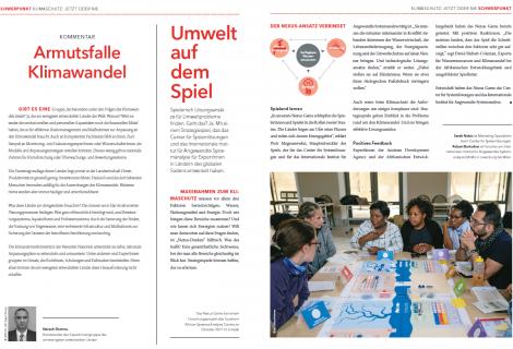 Artykuł o Nexus Game w ADA-magazine Weltnachrichten