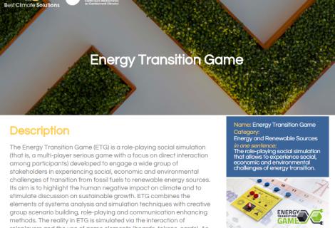 Transformacja Energetyczna w stawce najlepszych Best Climate Solutions