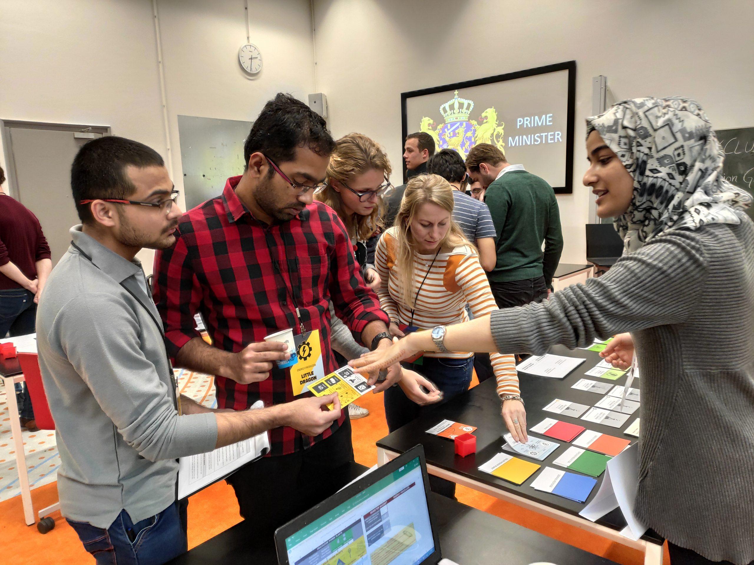 Energy Transition Game dla TU Delft Energy Club