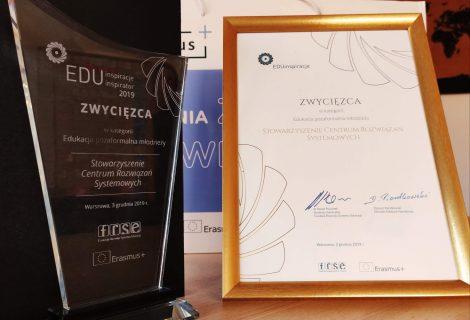 New Shores wśród laureatów nagrody EduInspiracje